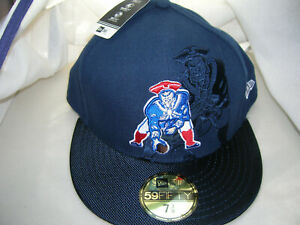 New England Patriots Throwback On Field 59fifty Fitted Hat Cap By New Era Ebay