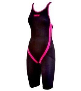 55c91d391ce WOMEN'S TECH SUITS ARENA Racing Carbon Flex Kneeskin Size 24 dark ...
