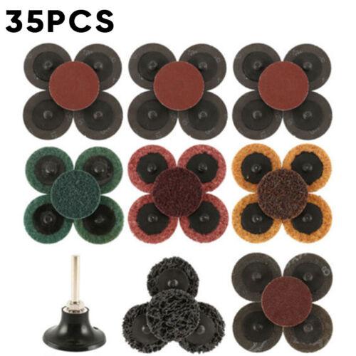 Für Luftschleifer Schleifen Discs 2 Zoll Schleifmittel Grob Werkzeug Langlebig