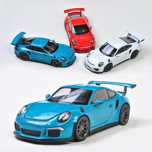 Welly-1-24-escala-2016-Porsche-911-991-GT3-RS-colecciones-de-modelo-automovil-de-fundicion