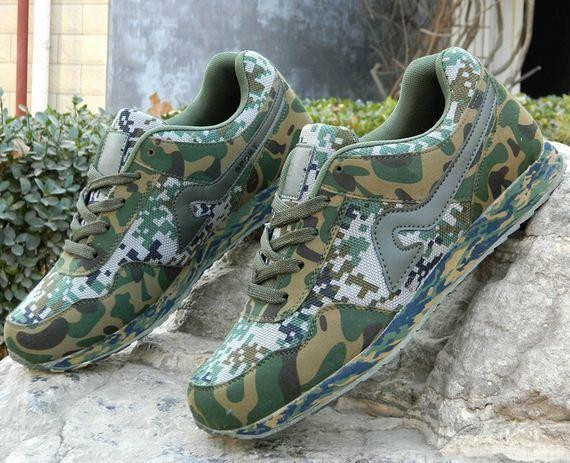 Mens Military Camo Hiking Athletic Trainer  Sneakers Comfy outdoor shoes SZ UK11