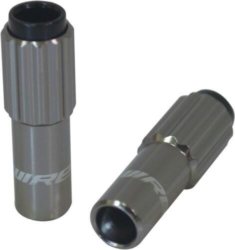 Jagwire Sport 4mm Mini Inline Cable Tension Adjusters Pair Titanium