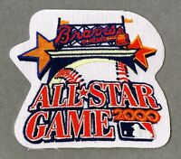 2000 All Star Game AUTHENTIC Atlanta Braves MLB Baseball Patch