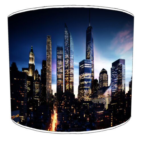 Manhattan Skyline New York Lampshades Ideal To Match Cushions Duvets Wallpaper