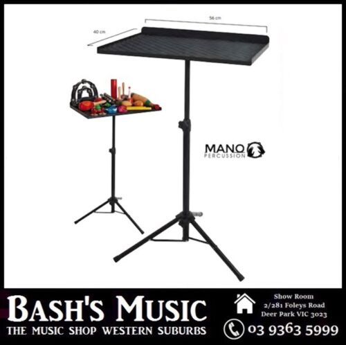 Xtreme Heavy Duty Height Adjustable Percussion Table   TDK418