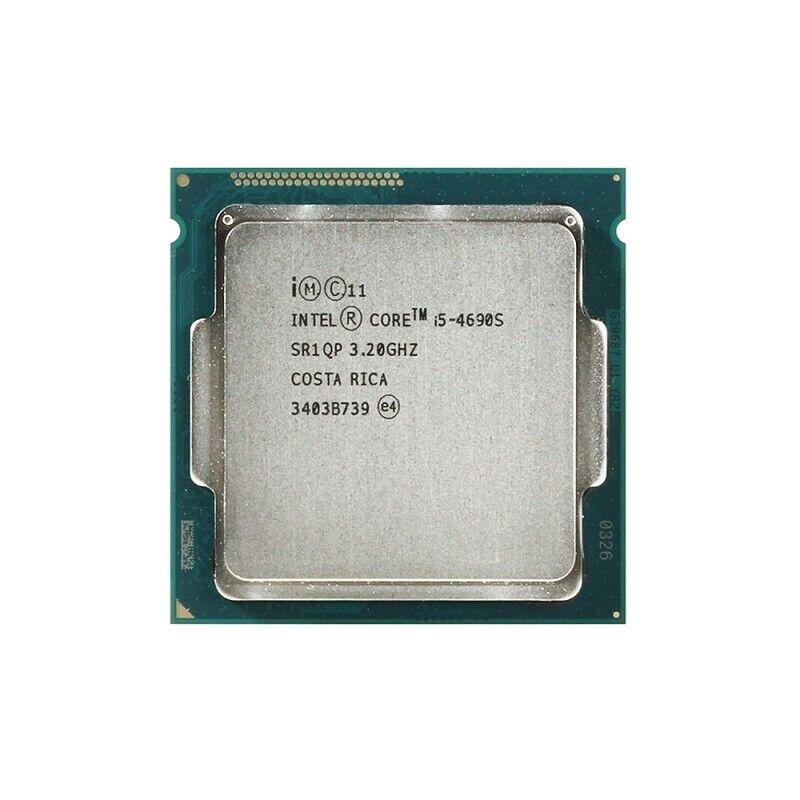 Desktop CPU Processor Intel Core i5 4690s LGA 1150 QuadCore 3,2 GHz bulk.