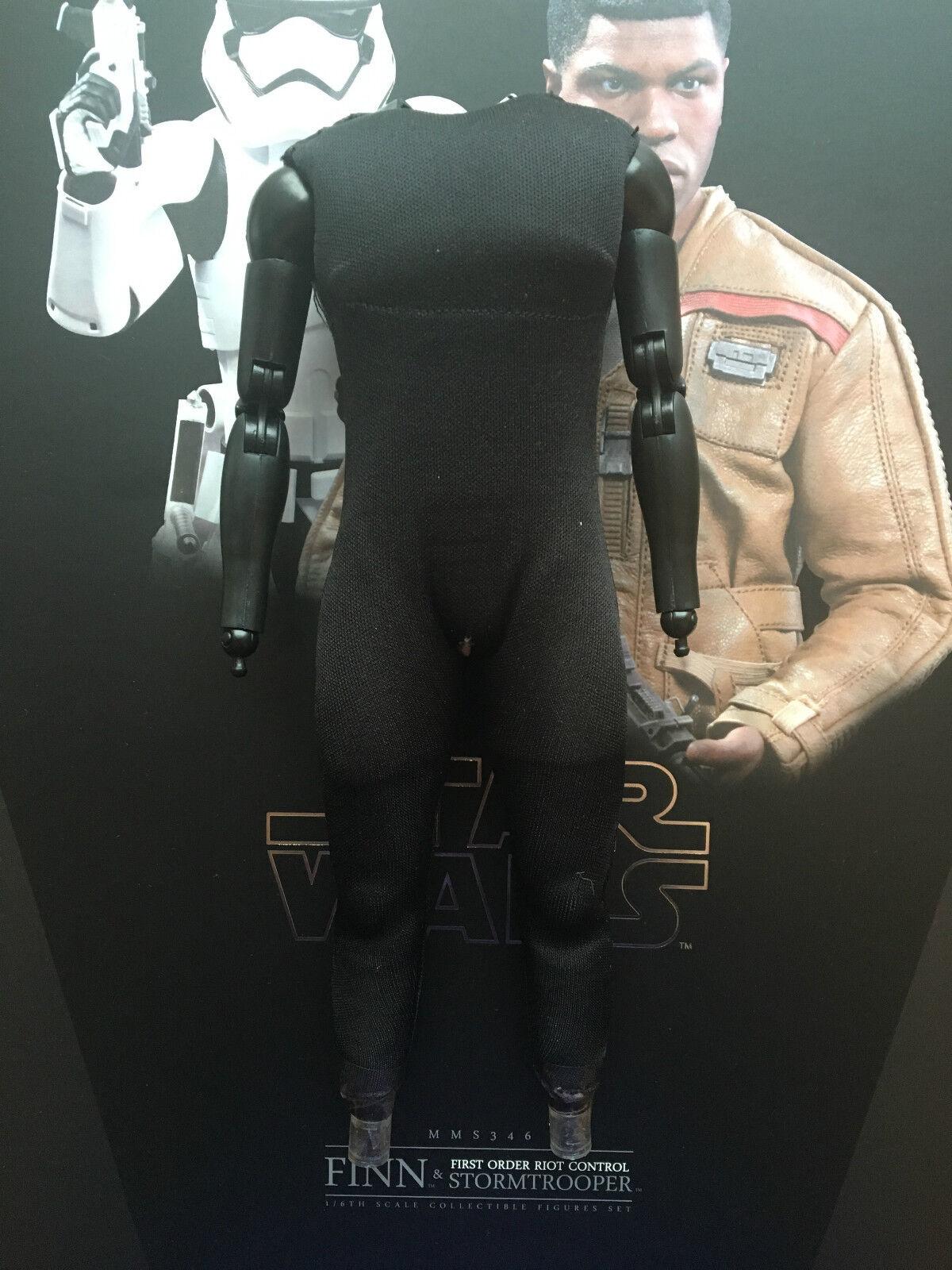 Caliente giocattoli estrella guerras Forza si sveglia primo ordine  Riot Trooper corpo scala 1 6th  100% di contro garanzia genuina