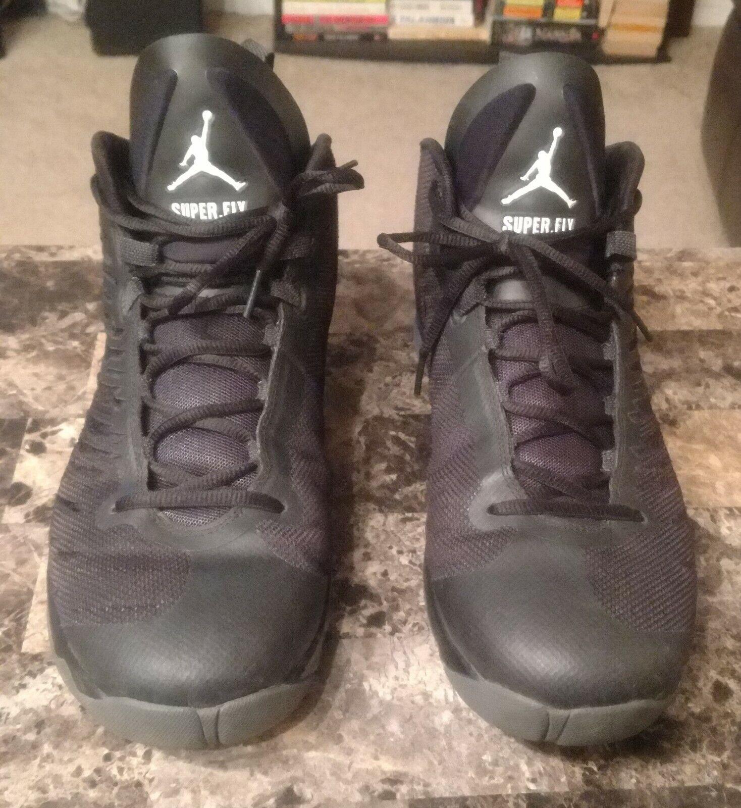Surrounded listen Rose  Jordan Super.fly 5 Black White 844691040 Basketball Athletic Shoes Sz 13 *  for sale online | eBay