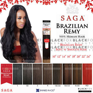 Saga brazilian remy yaky 100 human hair weave 10 12 14 16 18 image is loading saga brazilian remy yaky 100 human hair weave pmusecretfo Gallery