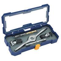 Irwin Hanson Tap & Die Tool Set Performance Threading System Chrome Chn 4935055