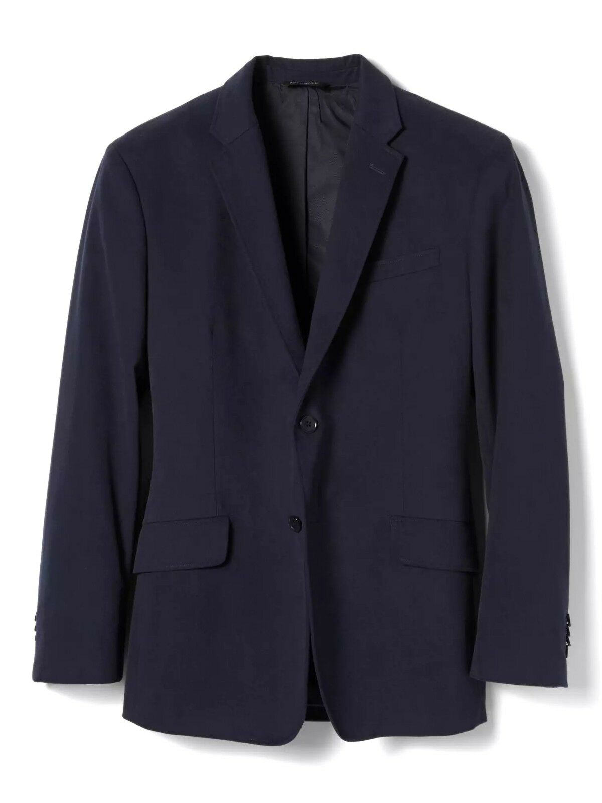 Banana Republic Standard Two-Button Cotton Sport Coat,Navy SIZE 40S 40 S  542252