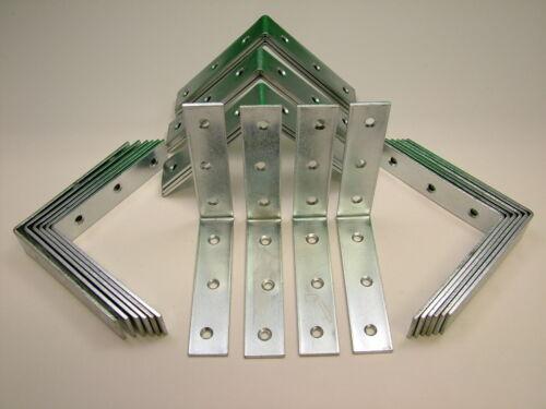 Angle Droit L Support Corner Brace 105x24mm Fixation Support Pack de 25