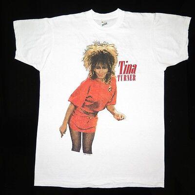VINTAGE ORIGINAL CONCERT TEE SHIRT TINA TURNER BETTER BE GOOD MEDIUM 1985 80s