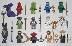 Lego-Minifigure-Figurine-Personnage-Ninja-Ninjago-Legacy-Choose-Minifig-NEW