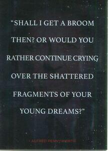 Gotham Season 1 Foil Quotes Chase Card Q4 Alfred Pennyworth