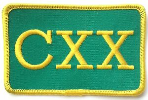 RAF 120 Squadron CXX Brigade Official Military Crested Embroidered Patch