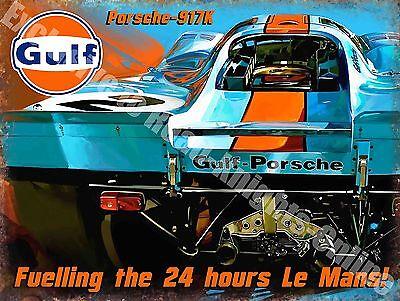 METALSIGN Original Metals Signs/ /Le Mans 1969/Ford GT40/ /15/x 20/cm