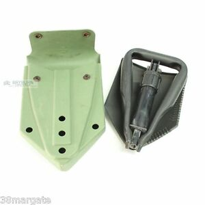 US Army GI Issue Trifold Entrenching Tool & Carrier - Original