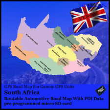 South Southern Africa GPS Map 2018 for Garmin Devices for sale ... on