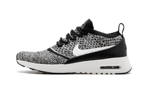 92f761a15f Nike Womens Air Max Thea Ultra Flyknit 5.5-8.5 Black White Oreo $150 ...