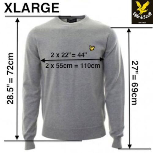 XL M L Lyie e Scott 100/% Cotone Girocollo Grigio Marna Maglione S XXL prezzo consigliato £ 85