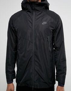 Détails sur Bnwt Taille XL Nike Bonded Parka veste noire 805112 010 afficher le titre d'origine