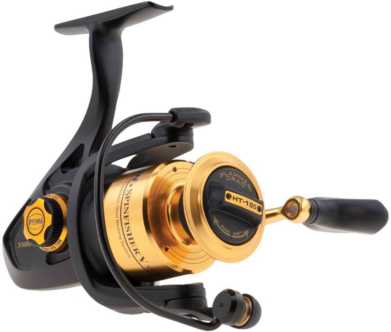 Penn SSV Spinfisher Long Cast Sea Spinning Fixed Spool Fishing Reel Reel Fishing - All Models 3b8aff