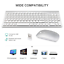 Wireless-Keyboard-And-Mouse-Combo-Set-2-4G-For-Apple-iMac-And-PC-Full-Size-Slim thumbnail 3