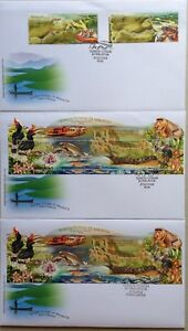 Malaysia-FDC-with-Stamps-amp-Miniature-Sheet-27-02-2018-Rivers-in-Malaysia