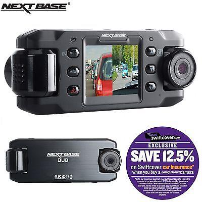 "Nextbase DUO Car Dash Dashboard Video Dual Camera 2"" 720P HD DVR Cam"