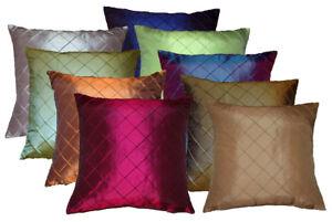 Home De Bleu Double Sided Chenille Cushion Cover Gulfrem Print various colours