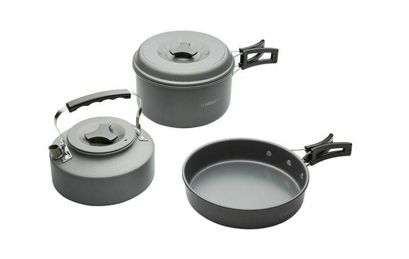 Trakker Armolife Complete Cookware Set   Carp Fishing