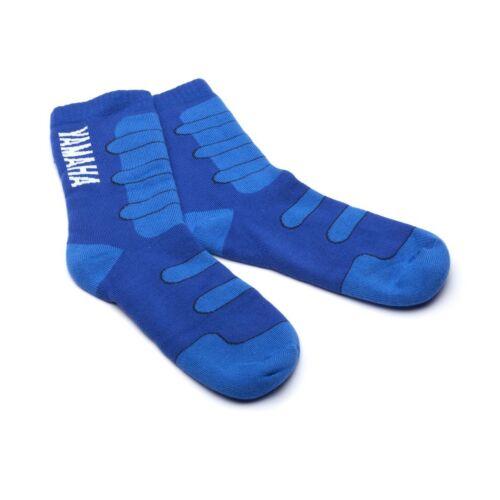 Official Yamaha Racing Blue Adults Thick Warm Socks