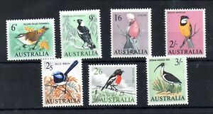 Australia-1964-1965-Birds-MNH-set-WS19432