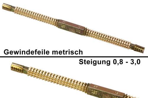 Gewindefeile Steigung 0,8-3,0 Gewindereparatur Gewinde Werkzeug