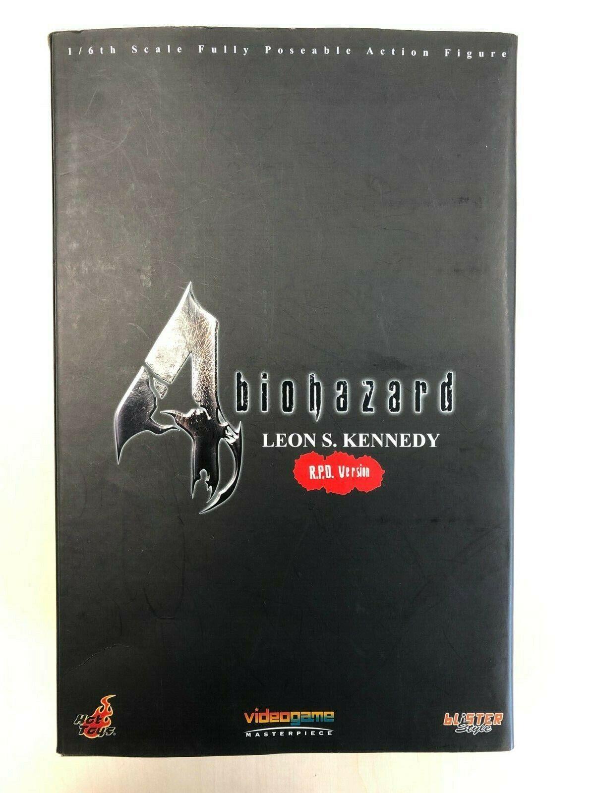 Hot Toys VGM 02 Resident Evil 4 Biohazard Leon S. Kennedy MITRAILLEUSE UNIFORM VERSION