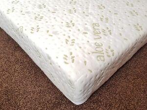90 X 200cm X 15cm Bunk Bed Reflex Foam Mattress With Zip Quieted