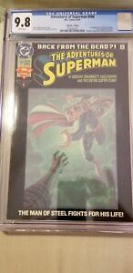Adventures-of-Superman-500-CGC-9-8-1280201001-6-93-Collector-039-s-Ed-original-owner