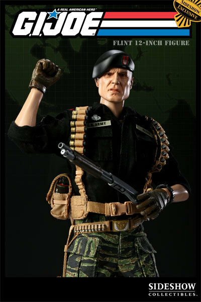 Sideshow Ltd Ed Ed Ed Exclusive Version  GI Joe - 1 6 Scale FLINT 12  Figure, NEW d22762