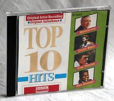 CD TOP 10 HITS - Chuck Berry/The Platters/Pat Boone u.a.