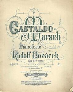 Rudolf-Novacek-Castaldo-Marsch-uebergrosse-alte-Noten