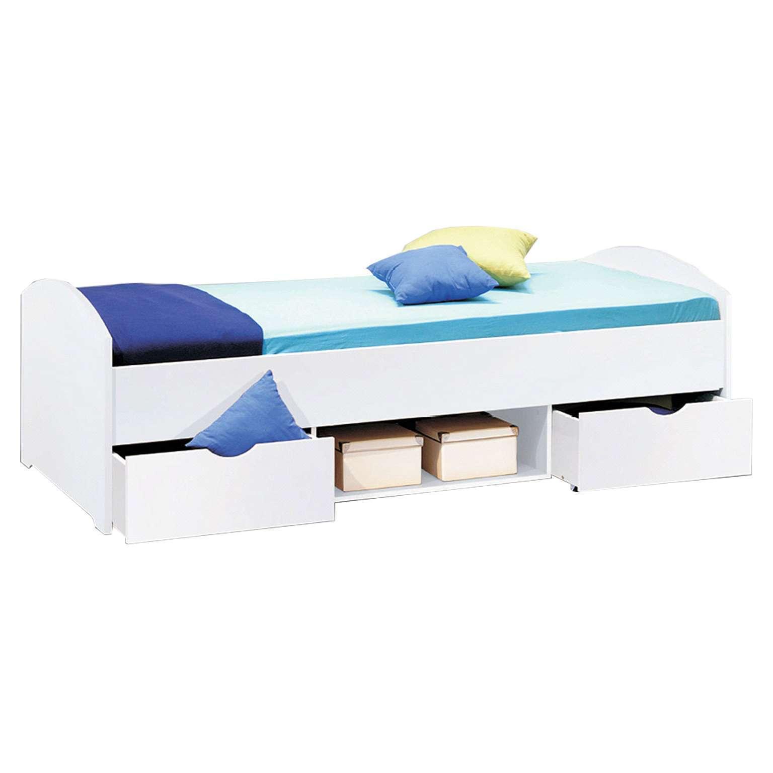 Letti Per Ospiti Salvaspazio nemu - fusto di letto con salvaspazio, per camera da ragazzi