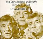 The Unanswered Question: Six Talks at Harvard by Leonard Bernstein (Paperback, 1981)