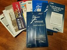 1988 88 Ford F-Series owners manual book oem with supplement booklets oem SD