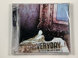 Brand-New-Sealed-THIS-VERY-DAY-This-Type-Of-Thing-CD-Canadian-2007