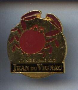 RARE-PINS-PIN-039-S-ANIMAL-CRABE-CRAB-ZODIAQUE-J-D-V-3B