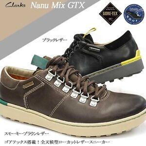 Clarks-Mens-NANU-MIX-GTX-Winter-Shoe-Brown-or-Black-Lea-UK-6-9-10-G