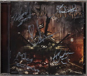 SOLDIER-Defiant-CD-2015-album-autographed-by-band-NWOBHM