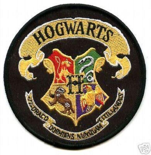 BRITISH HARRY POTTER COLLECTIONS HOGWARTS SCHOOL HOHWARTS SCHOOL CREST PATCH