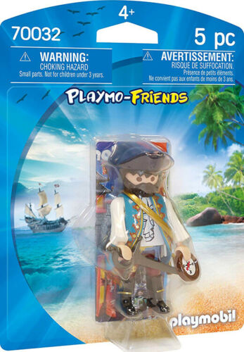 for Kids 4 and up Playmobil Playmo-Friends Pirate 70032